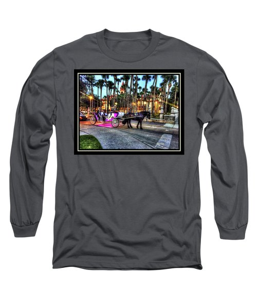 Long Sleeve T-Shirt featuring the photograph Love And St Augustine by Steven Lebron Langston