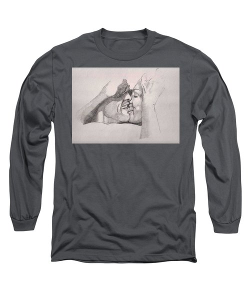 Love At First Bite Long Sleeve T-Shirt by Ray Agius