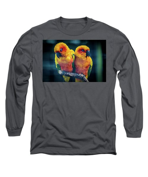 Long Sleeve T-Shirt featuring the photograph Love Birds by Chris Lord