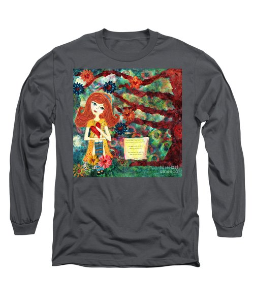 Love Creates Art Long Sleeve T-Shirt