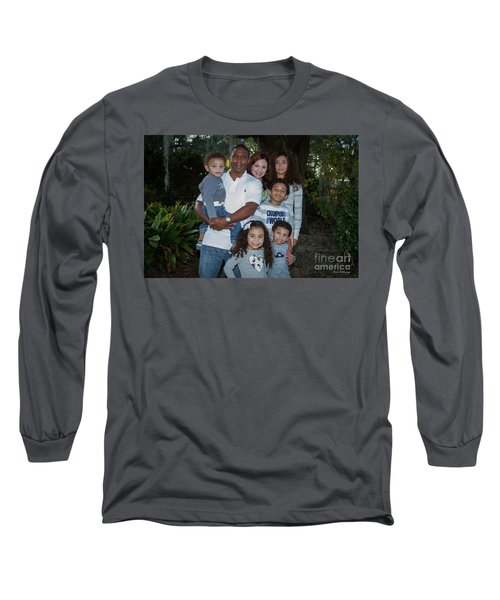 Long Sleeve T-Shirt featuring the photograph Love Demonstrated 2 James Ingram Family Art by Reid Callaway