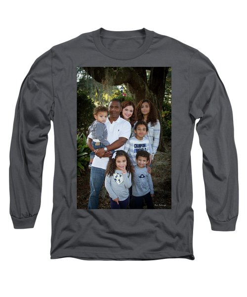 Long Sleeve T-Shirt featuring the photograph Love Demonstrated James Ingram Family Art by Reid Callaway