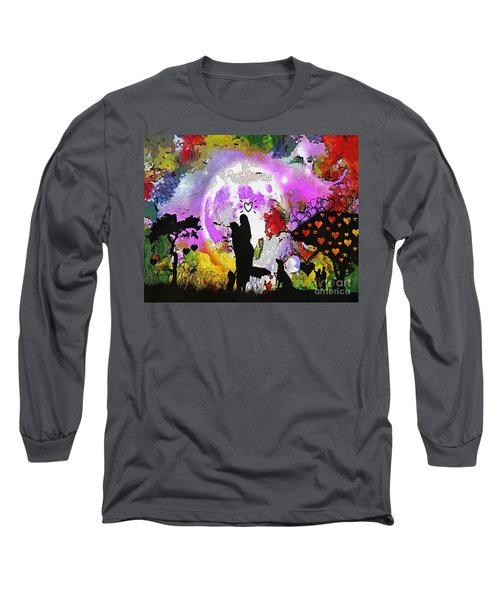 Love Family And Friendship In The Mix Long Sleeve T-Shirt