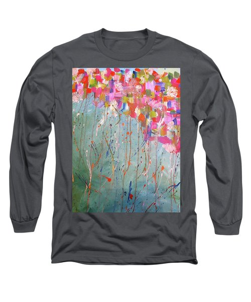 Love Flower Mountain Long Sleeve T-Shirt