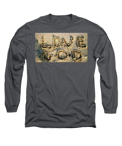 Love God Long Sleeve T-Shirt