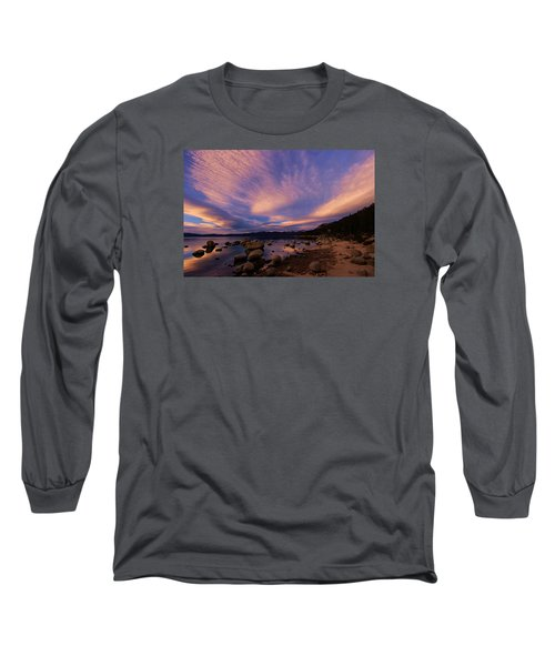 Love Is A Rocky Road Long Sleeve T-Shirt by Sean Sarsfield