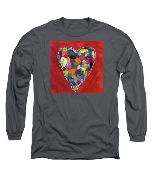 Love Is Colorful - Art By Linda Woods Long Sleeve T-Shirt