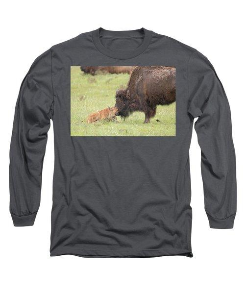 Love My Mama Long Sleeve T-Shirt