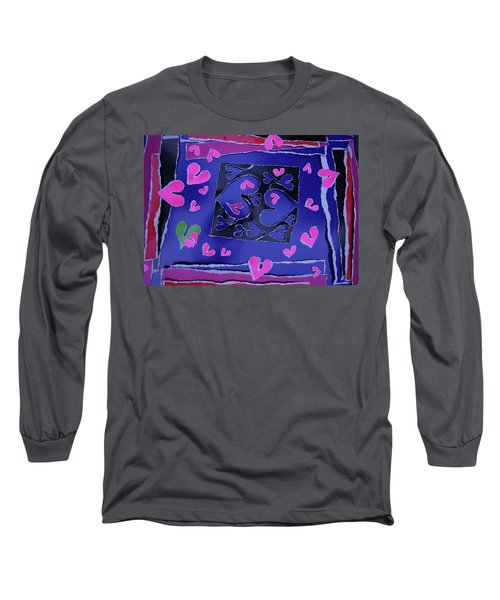 Love Soul Love Skeloton And The Subject Of Life Long Sleeve T-Shirt
