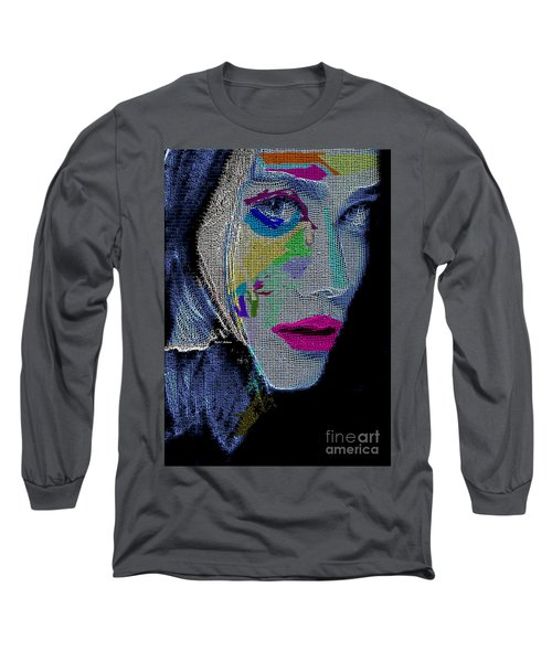 Long Sleeve T-Shirt featuring the digital art Love The Way You Look by Rafael Salazar