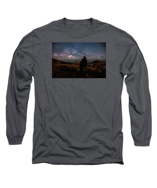 Loveing The  Universe Long Sleeve T-Shirt by Eti Reid