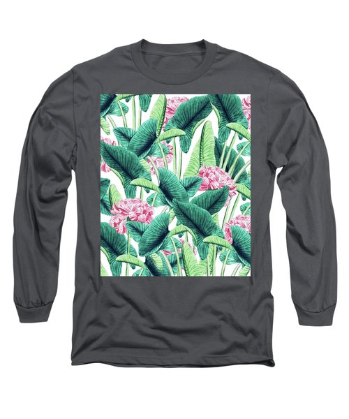 Lovely Botanical Long Sleeve T-Shirt