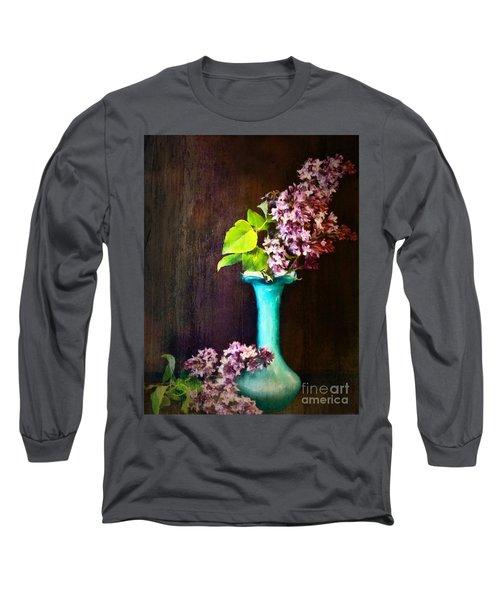 Lovely Lilacs Long Sleeve T-Shirt