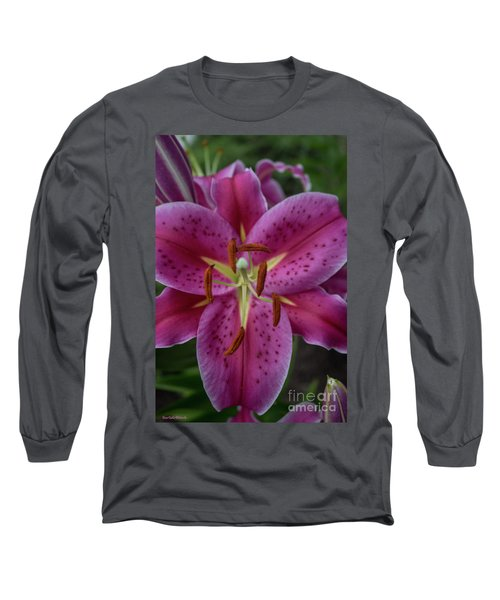 Lovely Lily Long Sleeve T-Shirt by Roberta Byram