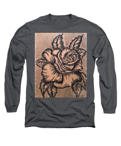 Lovely Rose Long Sleeve T-Shirt