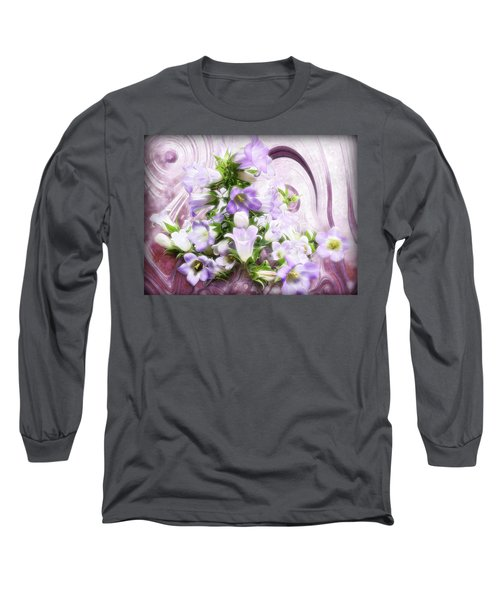 Lovely Spring Flowers Long Sleeve T-Shirt by Gabriella Weninger - David