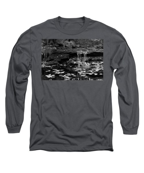 Low Falls Long Sleeve T-Shirt by Jeff Severson