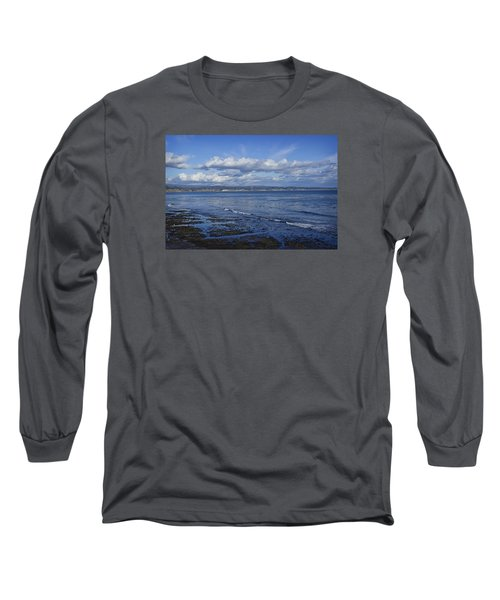 Low Tide At The Hook, Santa Cruz Ca Long Sleeve T-Shirt