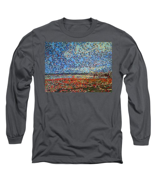 Low Tide - St. Andrews Wharf Long Sleeve T-Shirt