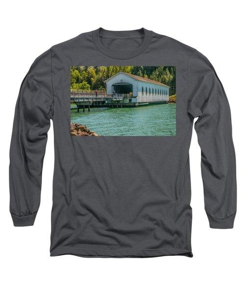 Lowell Covered Bridge Long Sleeve T-Shirt
