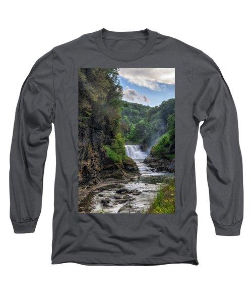 Lower Falls - Summer Long Sleeve T-Shirt