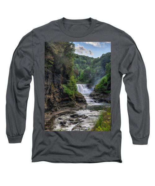 Lower Falls - Summer Long Sleeve T-Shirt
