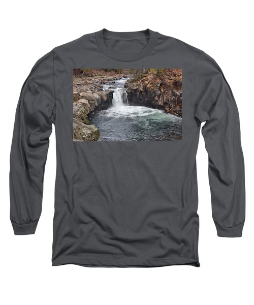 Lower Mccloud Falls Long Sleeve T-Shirt
