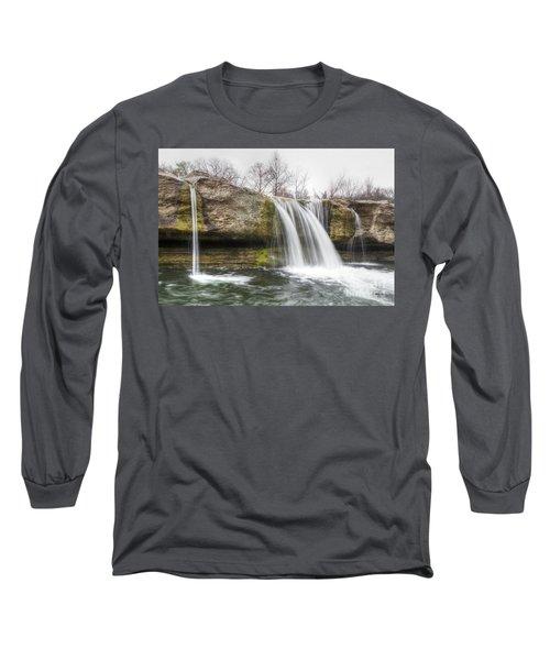 Lower Mckinney Falls Long Sleeve T-Shirt