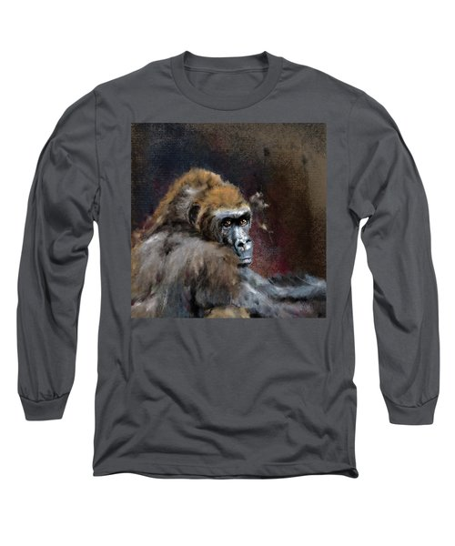 Lowland Gorilla Long Sleeve T-Shirt