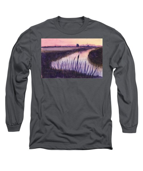 Loxahatchee Sunset Long Sleeve T-Shirt