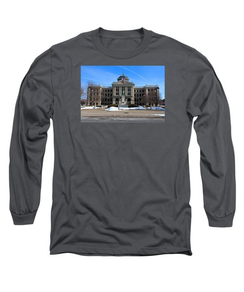 Long Sleeve T-Shirt featuring the photograph Lucas County Courthouse I by Michiale Schneider