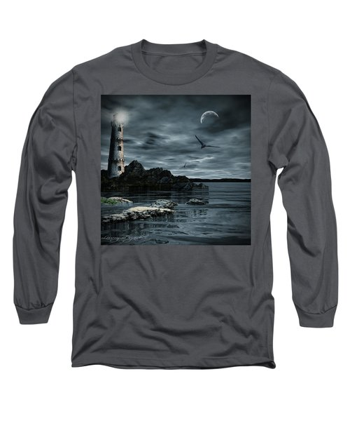 Lucent Dimness Long Sleeve T-Shirt by Lourry Legarde