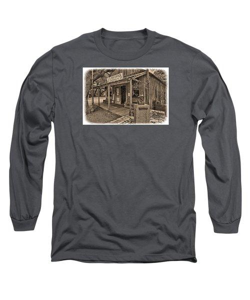Luckenbach, Tx Post Office Long Sleeve T-Shirt