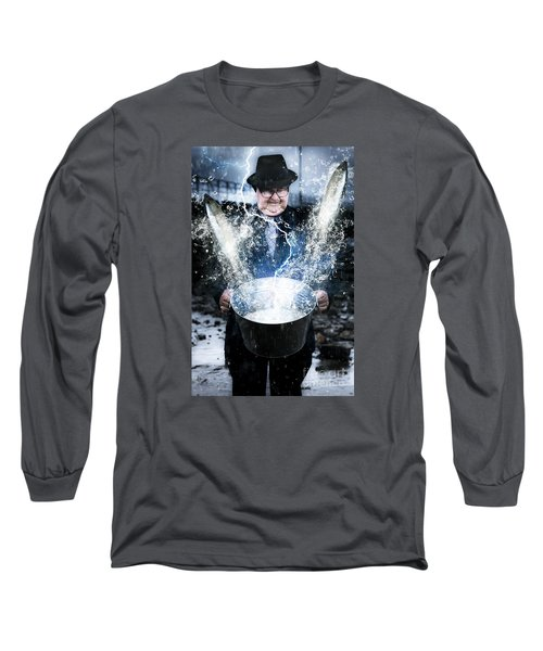 Long Sleeve T-Shirt featuring the photograph Lucky Strike by Jorgo Photography - Wall Art Gallery