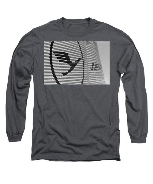 Lufthansa And Junkers Logos Long Sleeve T-Shirt