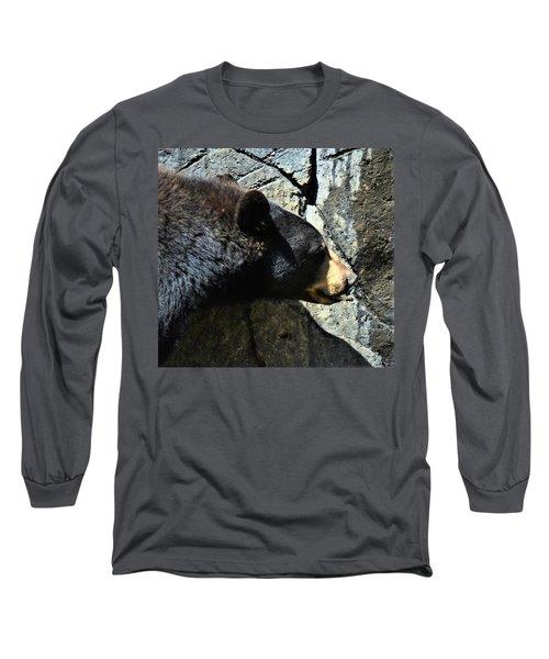 Lumbering Bear Long Sleeve T-Shirt