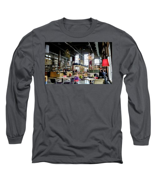Long Sleeve T-Shirt featuring the photograph Lumiere Maastricht by August Timmermans