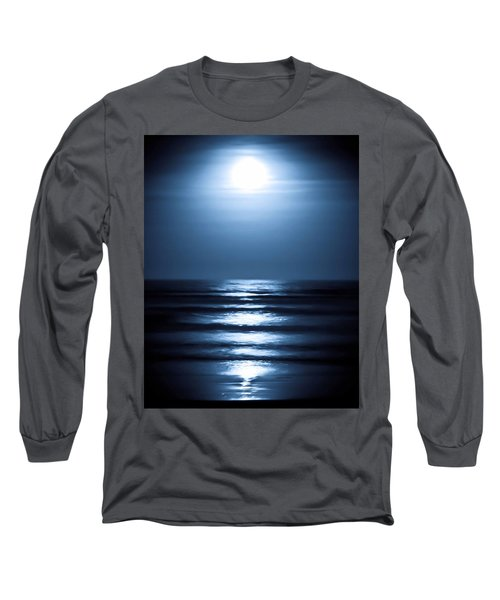 Lunar Dreams Long Sleeve T-Shirt by DigiArt Diaries by Vicky B Fuller