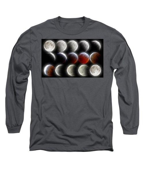 Lunar Eclipse Progression Long Sleeve T-Shirt