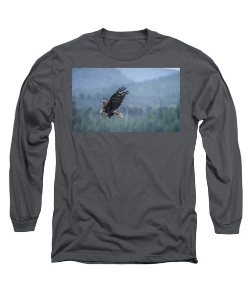 Long Sleeve T-Shirt featuring the photograph Lunch To Go by Timothy Latta