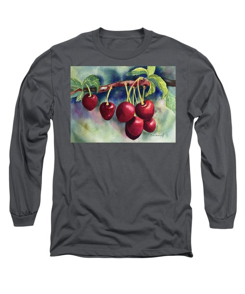 Luscious Cherries Long Sleeve T-Shirt
