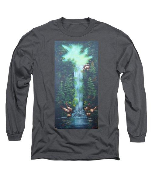 Lush Waterfall Long Sleeve T-Shirt