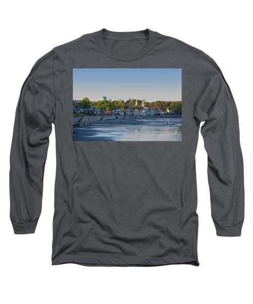 Lynn Waterfront Swampscott Water Tower Lynn Ma Long Sleeve T-Shirt