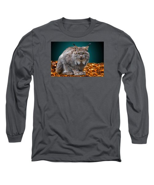 Lynx Long Sleeve T-Shirt by Brian Stevens