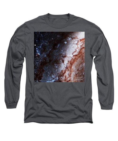 M51 Hubble Legacy Archive Long Sleeve T-Shirt