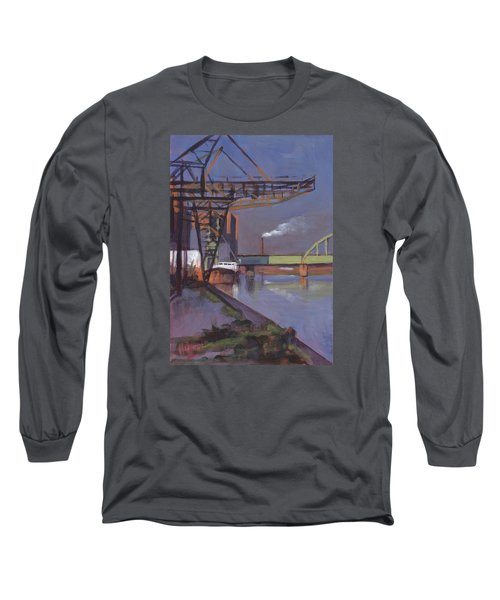 Maastricht Industry Long Sleeve T-Shirt by Nop Briex