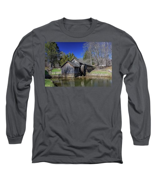 Mabry Mill Late Fall Long Sleeve T-Shirt