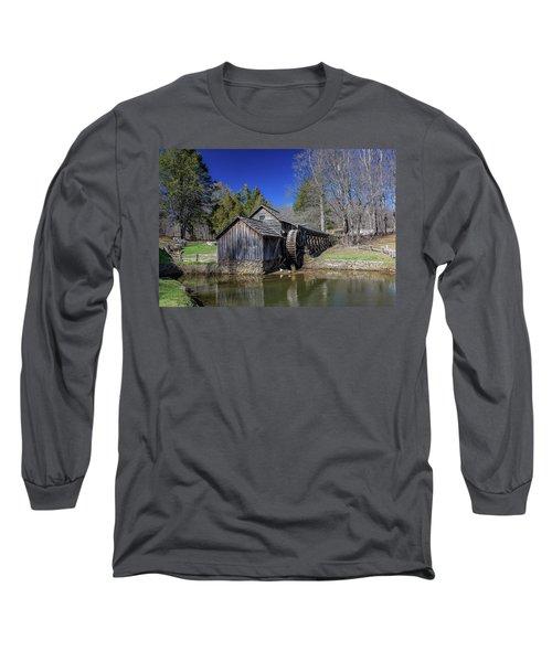 Mabry Mill Late Fall Long Sleeve T-Shirt