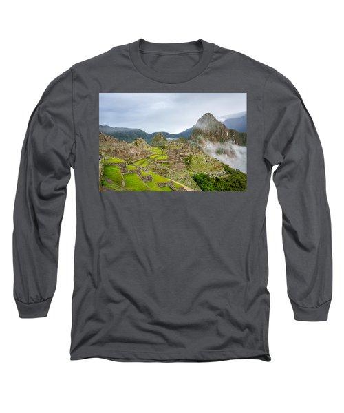 Machu Picchu. Long Sleeve T-Shirt