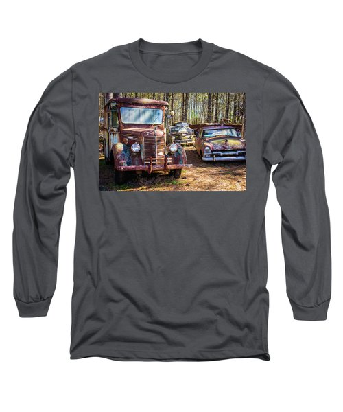 Mack Truck And Plymouth Long Sleeve T-Shirt
